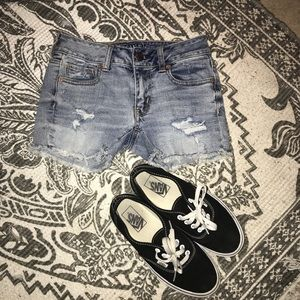 ... American Eagle Jean Shorts 00  CROSSPOSTED-DEPOP  ... 5b7a09691